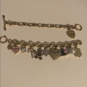 Christmas and starter juicy couture bracelets